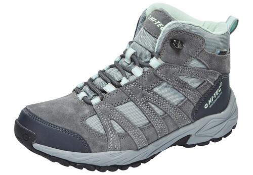Hi-Tec Alto II Mid WP Shoes Women Steel Grey/Grey/Lichen 37 2017 Trekking- & Wanderschuhe B0J9GA36dx